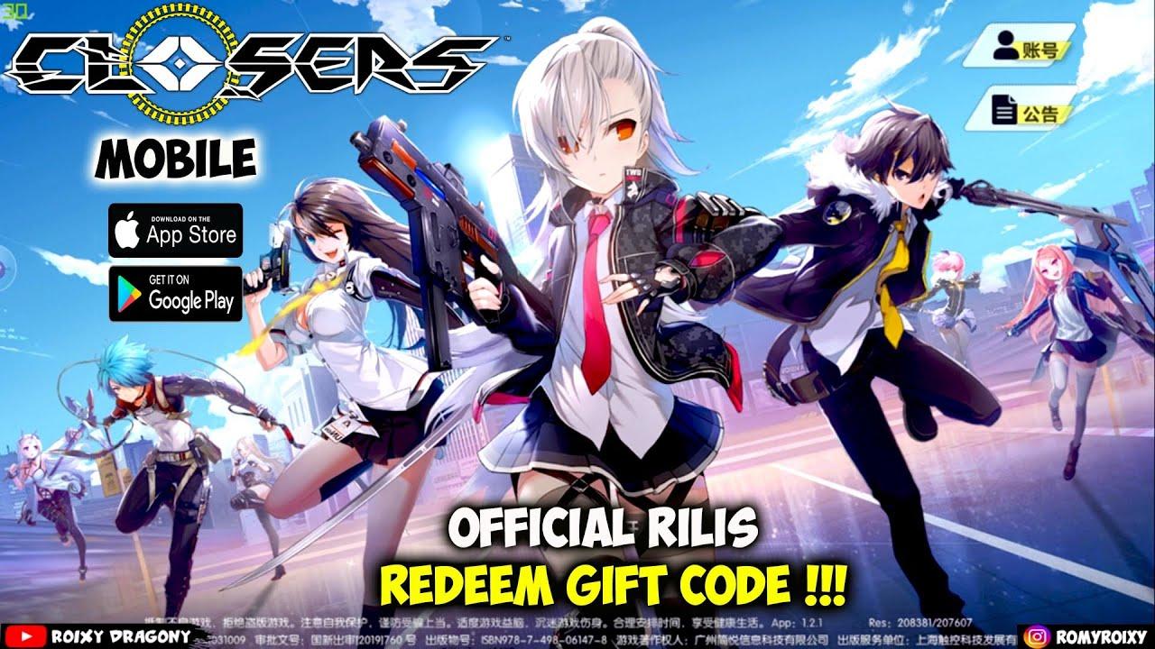 Official Rilis & Redeem Gift Code !!! Closers Mobile (CN ...