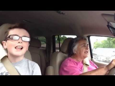 Karaoke with my granny (Must watch very funny)