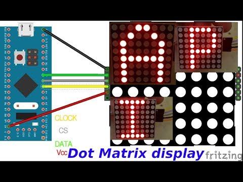 LED DOT MATRIX DISPLAY And STM32 || HAL || CubeMx || Keil