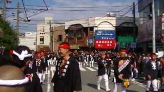 2012年10月7日 泉大津濱八町だんじり祭 本宮① thumbnail