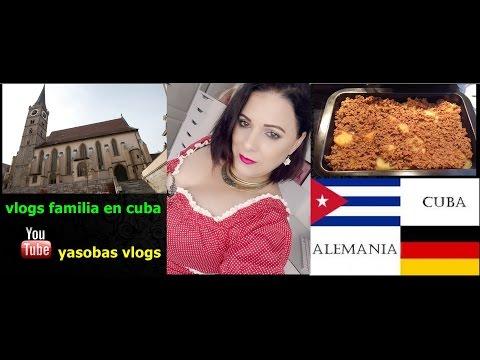 Vlog  295 Septiembre en Alemania 2017 + Estranando a cuba | yasobas vlog