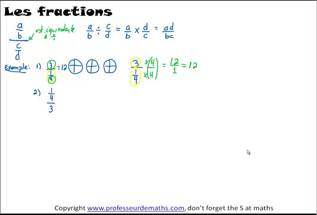 Watch on How To Add Fractions 1 3 4