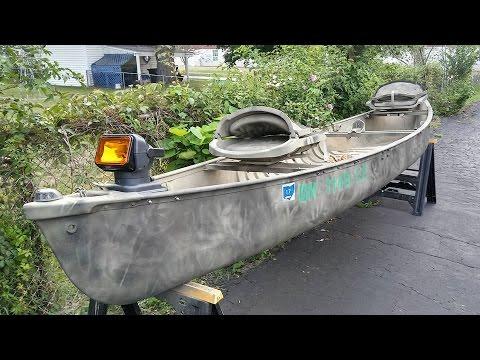 CUSTOMIZING YOUR CANOE ( FISHING/TROLLING CANOE ON STEROIDS)