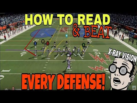 HOW TO READ & BEAT EVERY DEFENSE in Madden NFL 21! 3 Plays that Score 1 play TDs VS Any Man & Zone!