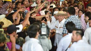 Entrega de 'Crédito Ganadero a la Palabra', desde Escárcega, Campeche.
