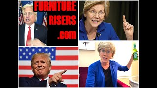 Elizabeth Warren and Donald Trump Impersonators NAIL Funny ad for FurnitureRisers.com