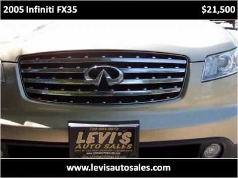 Levis Auto Sales >> 2005 Infiniti Fx35 Available From Levi S Auto Sales Youtube