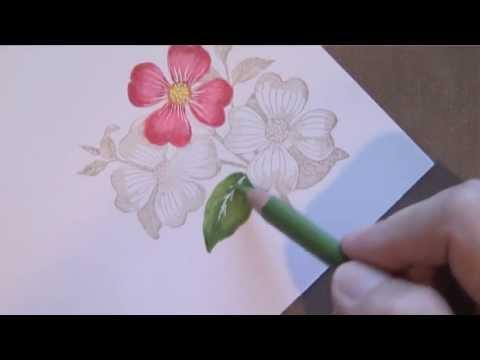 วาดภาพสีไม้