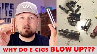 E-CIG EXPLOSIONS!!! - What The News Doesn't Tell You