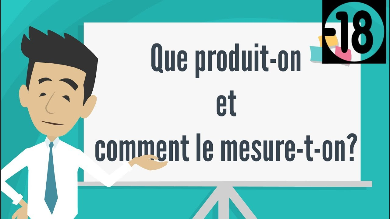 QUE PRODUIT-ON ET COMMENT LE MESURE-T-ON? PREMIERE ES