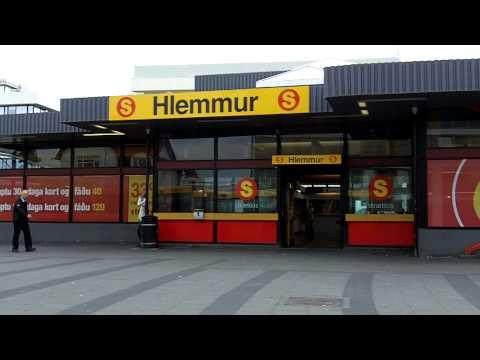 Hlemmur - Bus terminal - Reykjavik Iceland