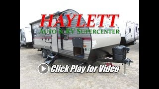HaylettRV - 2018 Grey Wolf 20RDSE 4,000lb Couples Travel Trailer by Forest River Cherokee RV
