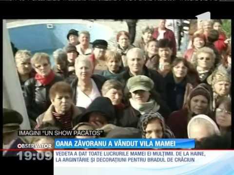 Oana Zăvoranu a vândut vila mamei sale cu 250 de mii de euro