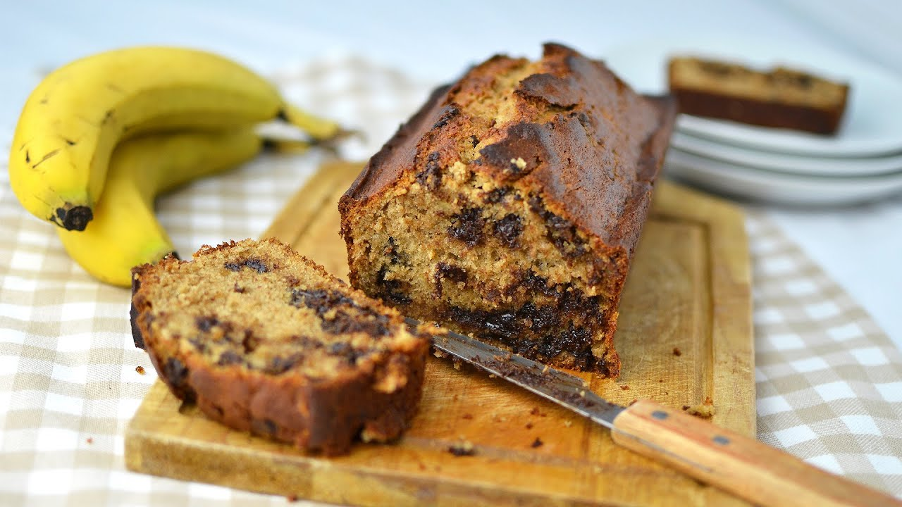 Banana chocolate chip bread homemade banana bread with chocolate banana chocolate chip bread homemade banana bread with chocolate chips forumfinder Image collections
