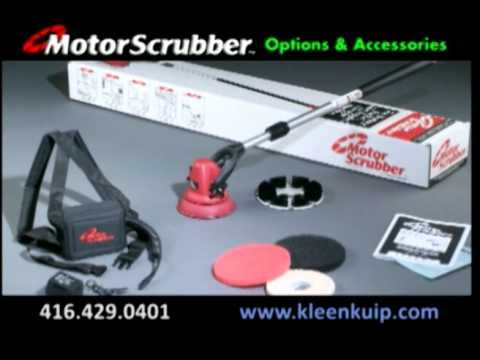 Automatic Scrubbing Portable Lightweight Powerful Cleaning Machine Tool - Motor Scrubber