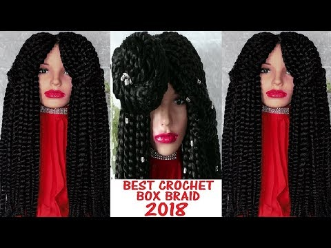 DIY How to Make Your Very Own Box Twist Braid Wig for beginners.
