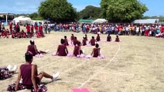 Stoney ground primary school cheer leaders anguilla 2013