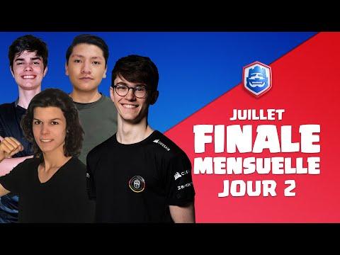 Clash Royale League 2021 : Finale de Juillet | Jour 2 ! (Français)