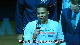When Do They Announce NBA MVP