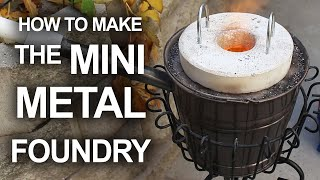 How to make a simple backyard foundry for less than $20, for melting pop cans, and casting aluminum. [✓] Clay Graphite Crucible: http://amzn.to/2bZ2ESu ...