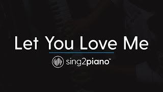 Let You Love Me (Piano Karaoke Instrumental) Rita Ora Video
