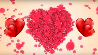 L'amour Star - 3D Aiment Star Logo Animé le Premier Regard | Animation Vidéo