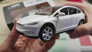 In-Depth Full Review TESLA MODEL X & LYKAN HYPERSPORT Diecast Cars Sounds & Lights! 12 11 2017