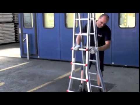 Svelt Scalissima — телескопическая алюминиевая лестница