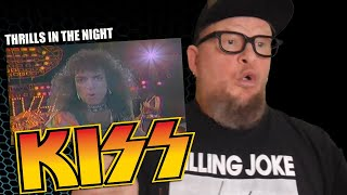 KISS - Thrills In The Night  (Flashback Reaction)