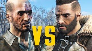 Fallout 4 - Elder Maxson VS Kellogg - Character Battle