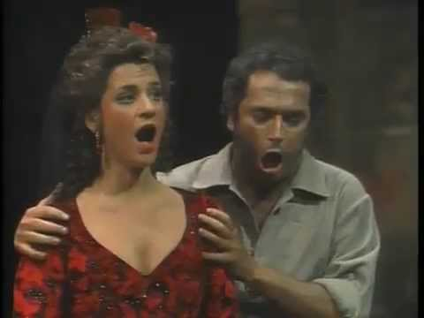 José Carreras & Agnes Baltsa  Finale  Curtain Call  Carmen カルメン