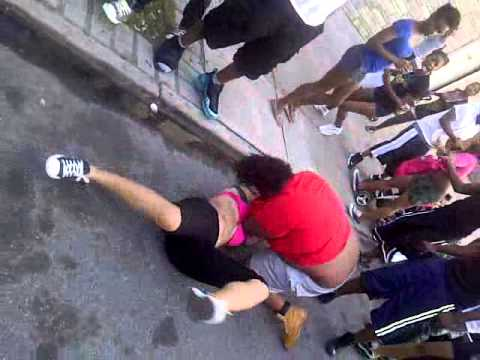Coney island girls get beat up