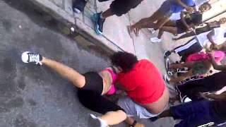 Coney island girls get beat up