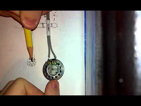 How to wire a 35mm jack to a double terminal speaker - YouTube