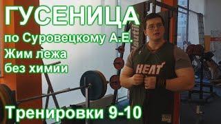 ГУСЕНИЦА по Суровецкому А.Е. Видео: 4