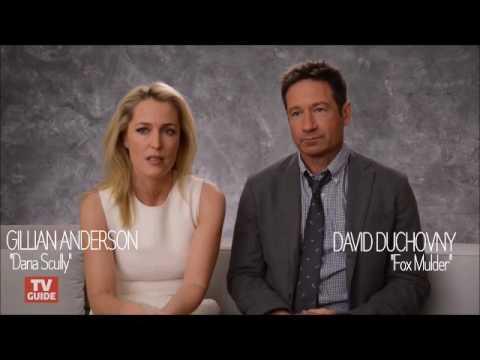 David Duchovny & Gillian Anderson TCA 2016