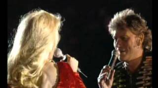 Johnny Hallyday et Sylvie Vartan - Le feu