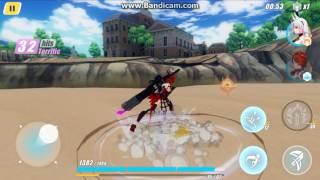 Honkai impact S rank Himeko Gameplay