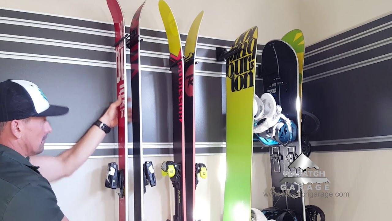 Bike Racks and Ski Racks in Park City Utah - YouTube on hooks for garage, ski rack plans, ski roof rack, ski boot storage, fishing racks for garage, ski wall rack, board racks for garage, hardware for garage, ski wine rack, ski hangers wall mount, ski and snowboard storage, ski coat rack, bike for garage, ski rack in mudroom, ski display, diy surfboard racks for garage, winches for garage, drawers for garage, storage benches for garage, ski rack ideas,