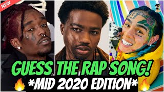 GUESS THE RAP SONG *MID 2020 EDITION* 🔥