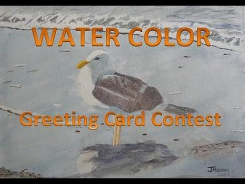 Painting Water Color - Greeting Card Contest