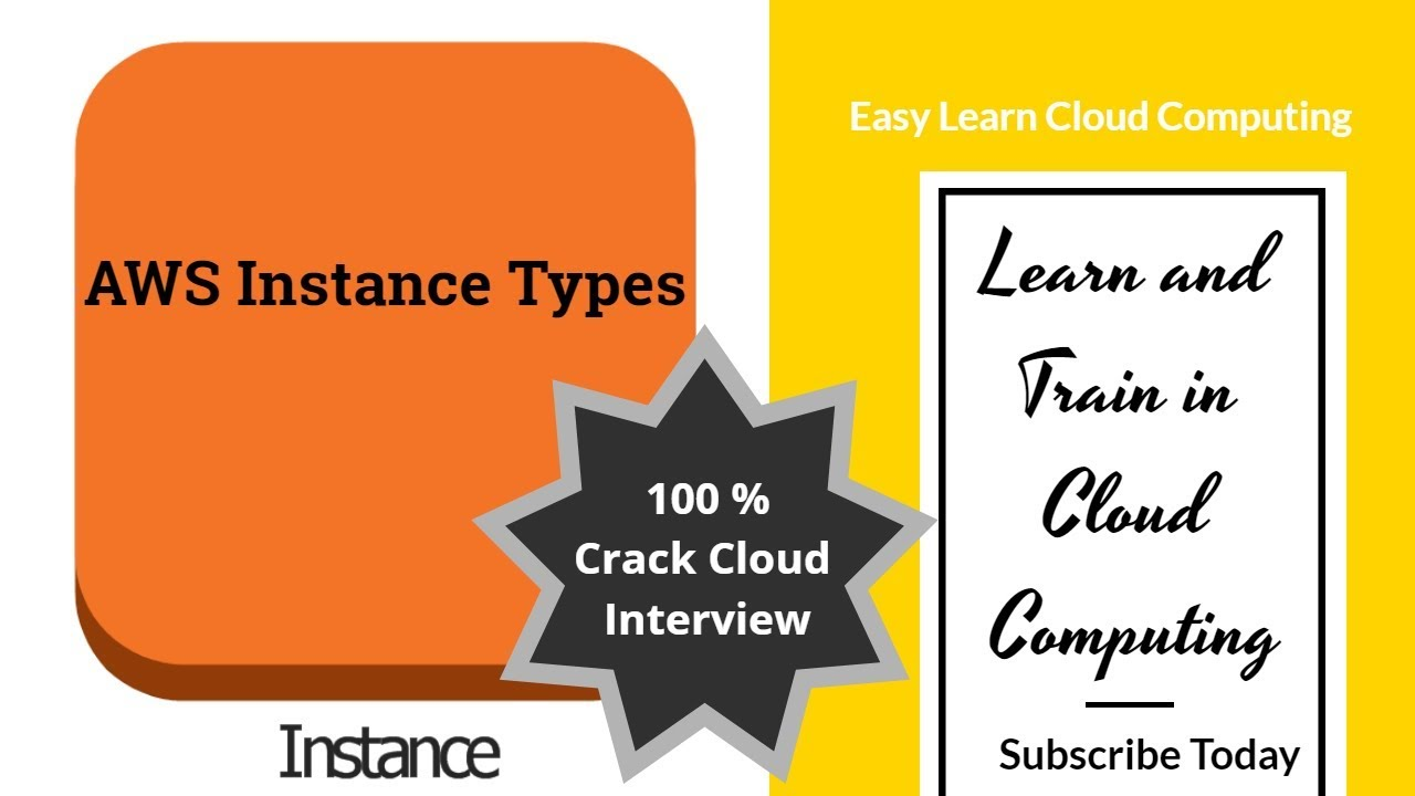 Types of AWS instances | Learn AWS Cloud Computing | AWS Interview