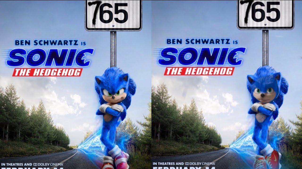 Raregalaxy5 Sonic The Hedgehog Movie 765 Mph Sign Redo Youtube