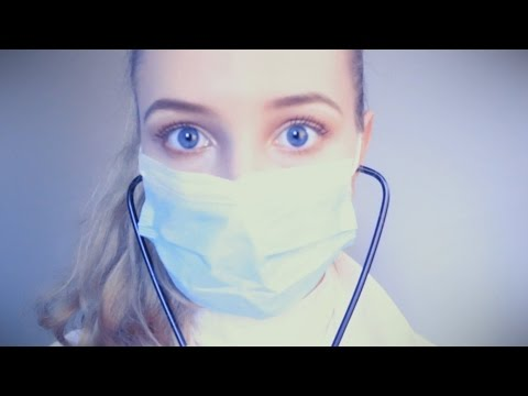 ASMR Quarantine Doctor | Gloves | Personal Attention