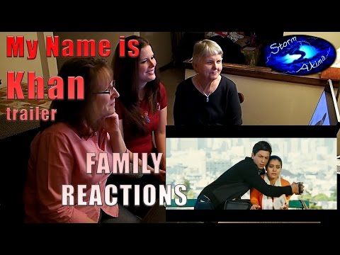 My Name is Khan trailer FAMILY Reactions