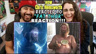 Endgame Directors Reveal How CHRIS HEMSWORTH Reacted To FAT THOR - REACTION!!!
