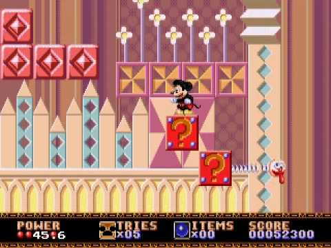 how to play castle of illusion