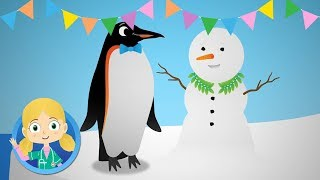 Chilly the penguin visits Dr Poppy's Pet Rescue | Animal Cartoons and song for Children