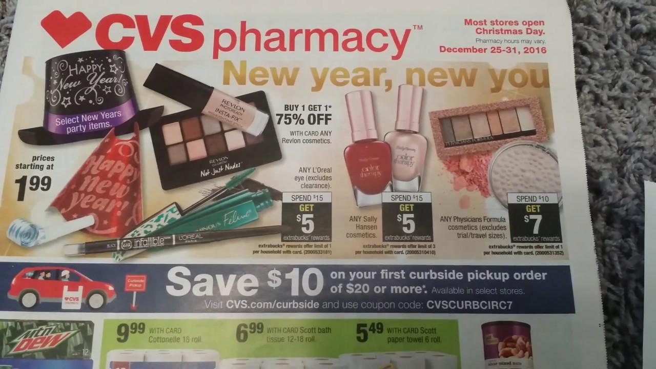 CVS Deals Starting 12/25/16 - Merry Christmas - YouTube