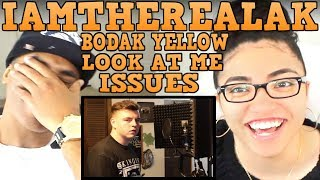 IAMTHEREALAK LOOK AT ME (REMIX) | BODAK YELLOW (REMIX) | ISSUES (REMIX) | IAMTHEREALAK REACTION